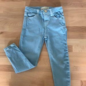 Zara skinny girl jeans size 5🌸